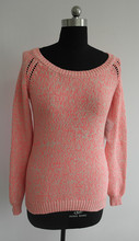fashion girls latest design winter sweater
