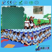 environmental friendly and recyclable kindergarten playground flooring
