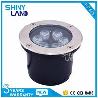 High lumen IP67 waterproof solar rgb led underground lights