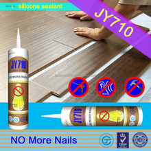 China Factory JY710 excellent viscosity bond silicone sealant waterproof non toxic nail glue