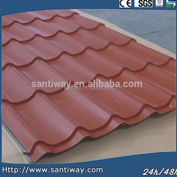 Prepainted galavanized steel roof tile