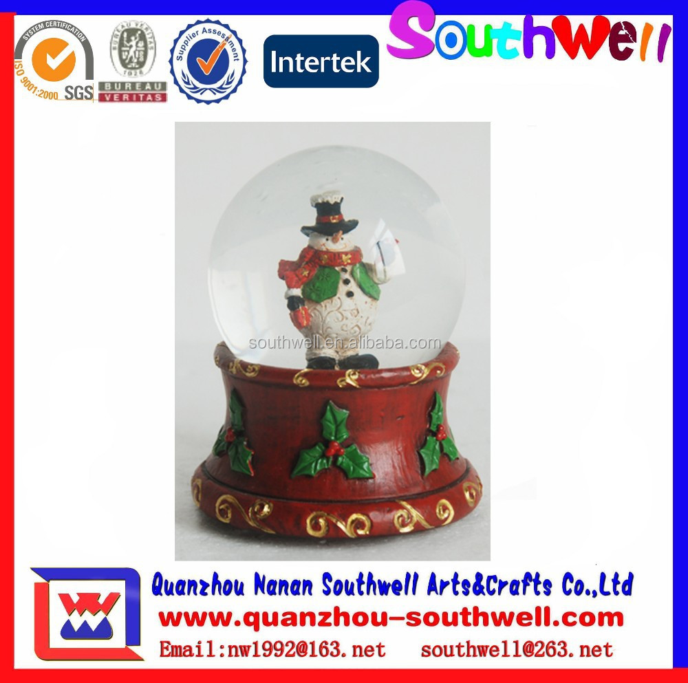 Christmas Holiday decoration Snow Globe for sale for Collection Gifts