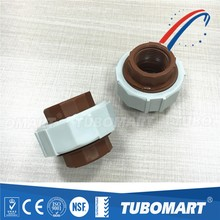 all type of pph union pipes and fittings of pp pph material plastic pipe fittings