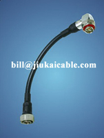 High quality super flexible jumper cable with sma and n connector