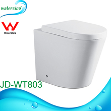 JD-WT803 Modern square design washdown toilet wall hang toilet