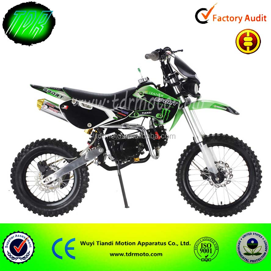 Made in China CE Dirt Bike Pit Bike Lifan 125cc Motor