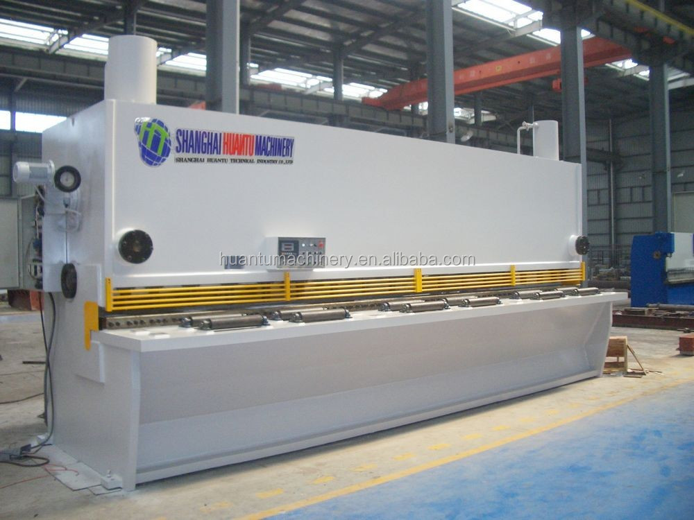 High Quality stainless steel metal sheet cutting machine / iron plate sheet cutting machine / carbon metal plate cutting machine