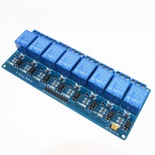 8 channel 8-channel relay control panel PLC relay 5V module.8 road 5V Relay Module
