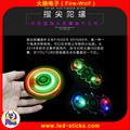 2017 Newest Crystal LED Hand Spinner For Kids Toys Gift Clear LED fidget spinner Manufacturer China