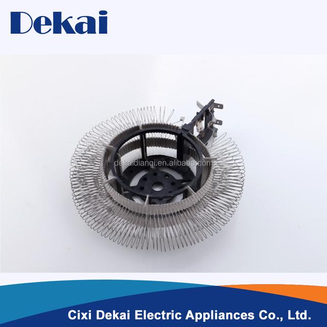 Dekai Customized fan heater round mica sheet electric heating element