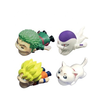 Factory selling  For one piece Zoro cable bite protector for iphone usb cable