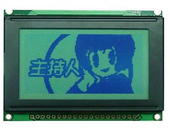12864 LCD MODULE graphic