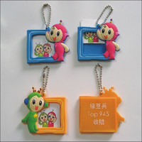 different types of custom silicone/ soft pvc / plastic/rubber photo frame with letters&animal picture