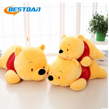 Bestdan custom size super soft Winnie plush stuffed teddy bear toy