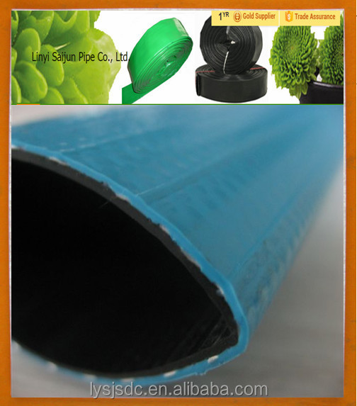 green 2 inch soft pvc pipe for water supply
