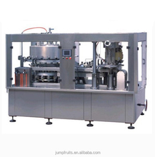can of apple juice beverage filling production plant