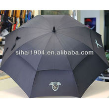 Customized quality golf top umbrella with air vent
