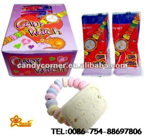 Fruit Flavor Press Candy Watch Bracelet Candy