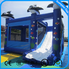 Used Commercial Dolphin Inflatable Bounce House For Sale