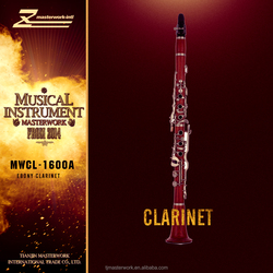 woodwind musical instrument a clarinet, rosewod clarinet