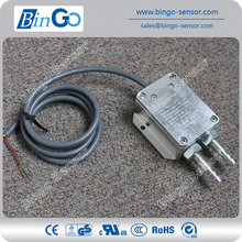 Low cost differential pressure transducer