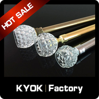 KYOK New designs length 6m curtain poles prices, stage curtain poles to home decortaions