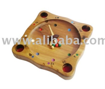 ROULETTE GAME--WOODEN TOY