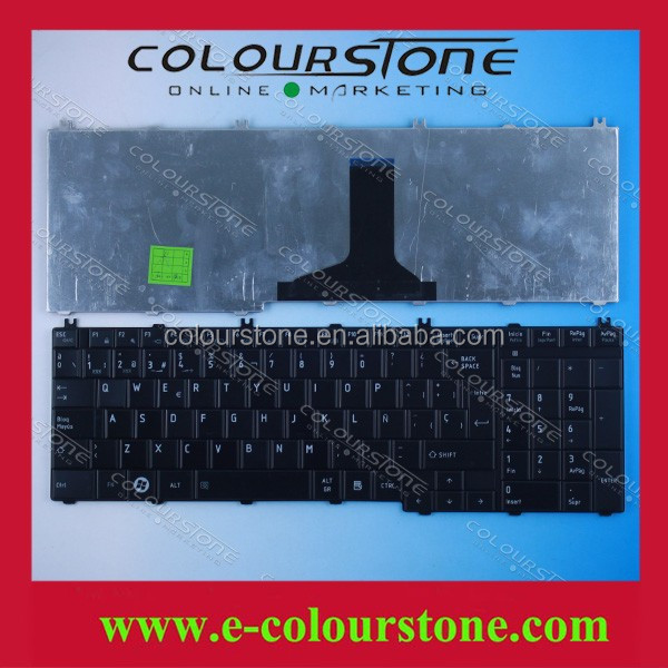 hot sell Spanish keyboard for Toshiba C650 C650D C655 C655D C660 C660D C665 C665D C670 C670D keyboard brand new black color