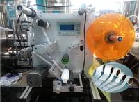 Semi-automatic adhesive sticker plastic round bottle labeling machine /system/plant sale