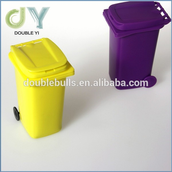 Hot sale good selling garbage shape plastic Pen Holder / pen container