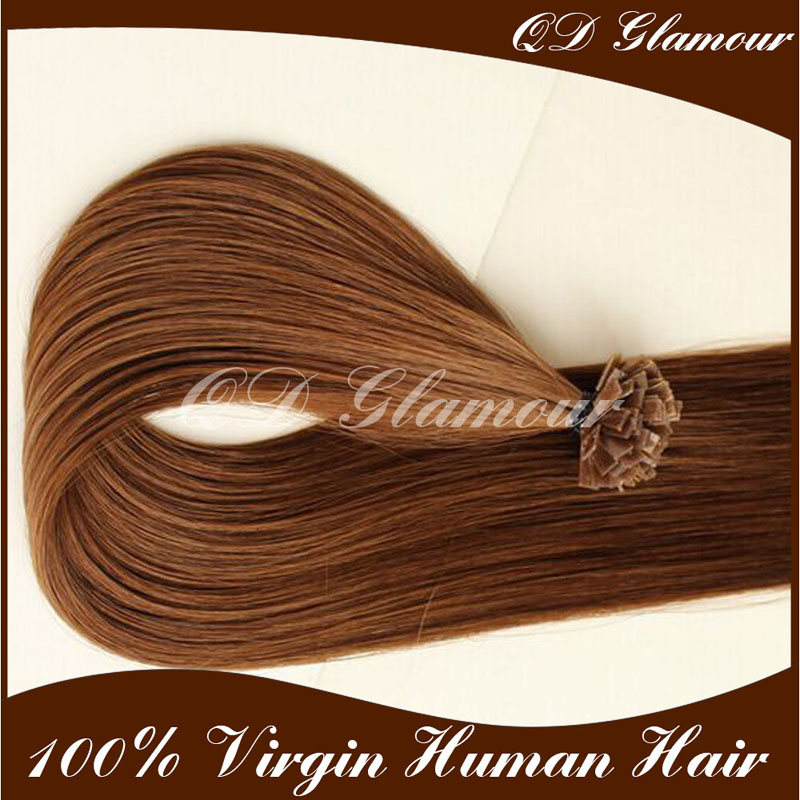 Direct China Factory Wholesale Virgin Remy Flat Tip Hair Extensions