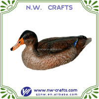 Resin Mallard Hen Figurine