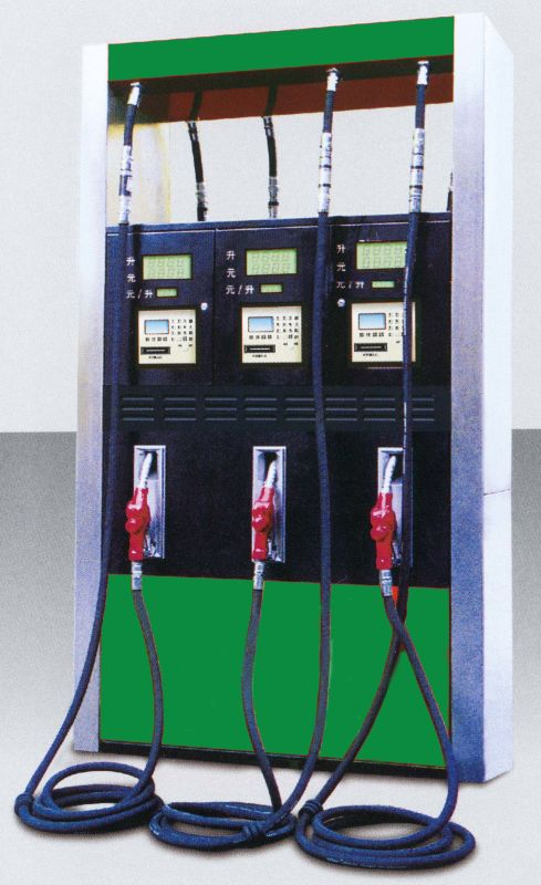 3 pump 3 flow meter fuel dispenser for gas station