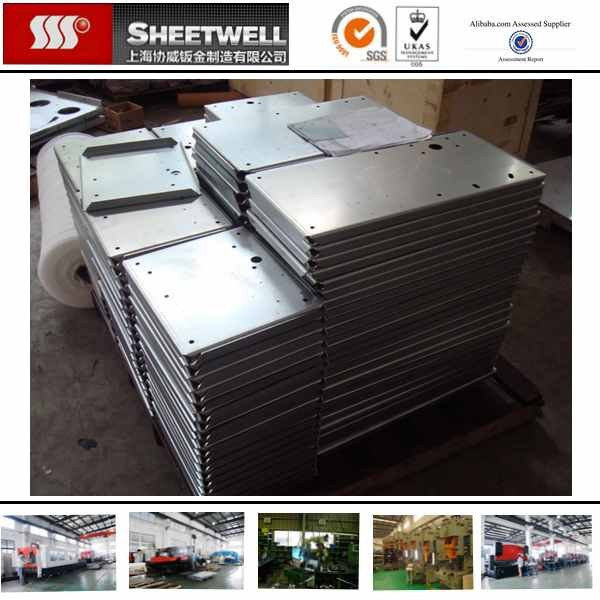 Galvanized Steel Panel Metal Sheet Fabrication