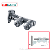 stainless steel 90 degree pipe fixing glass clip,glass shower hinge