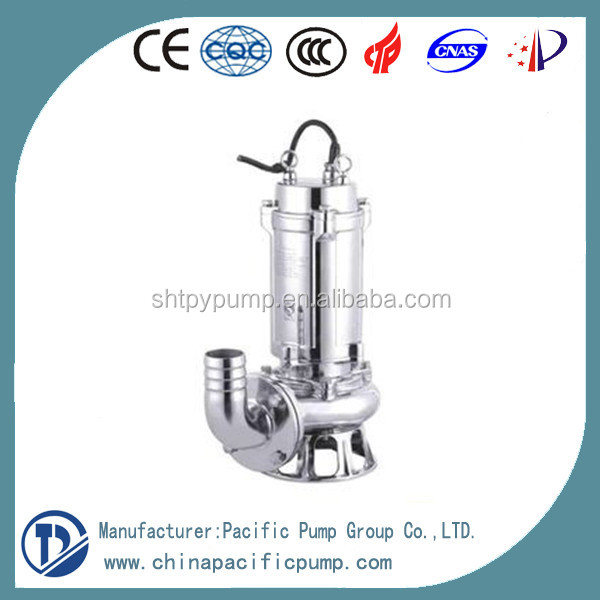 Factory Supply Stainless Steel Electric Submersible Sewage Pump
