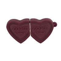 2015 Hot new products usb flash drive chocolate usb stick of heart shape chocolate 2tb usb pen drive