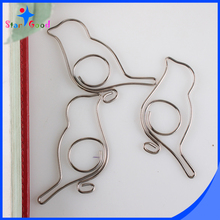 Christmas Ornament Hooks Bird Shaped Paper Clips