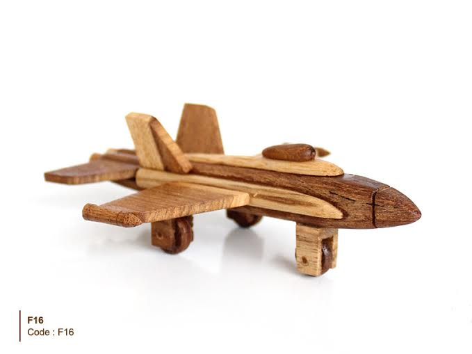 Thailand craft teak wood plane,handmade,craft