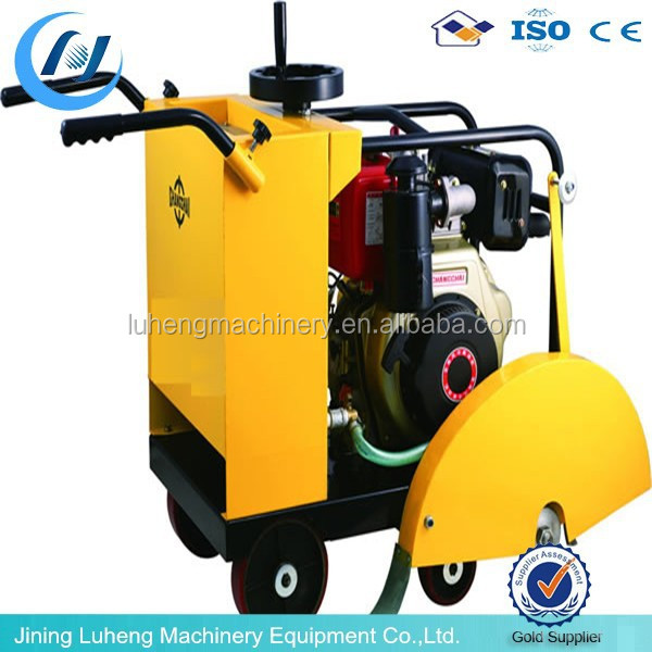 Concrete Road Cutter with 178F Diesel Engine, 400mm Blade and 150mm Cutting depth