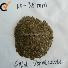 golden raw vermiculite sheets