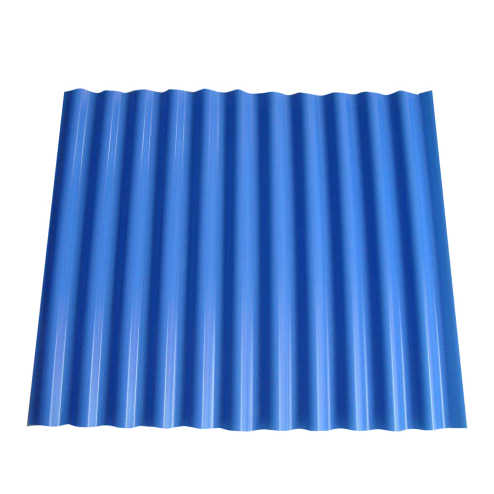 Coiled steel for roofing sheet