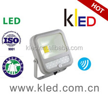 Outdoor/ Indoor led flood light 23w with sensor