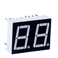China best price 0.50 inch Red seven segment display common anode from 2 digit 7 segment led display pins manufacturers