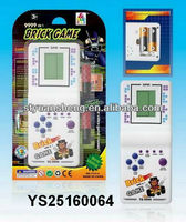 Electronic brick game machine toy education game for kids