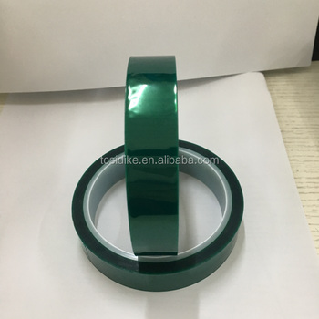 High Temperature Green Polyester Silicone Adhesive Tape