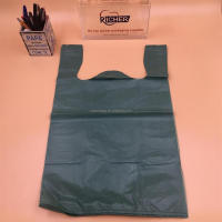 Most Popular Customised Factory Sale Compostable EPI Plastic T-Shirt Bag