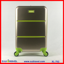 China Factory PC Carry-On luggage 20 inch Cabin luggage promotion design