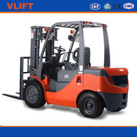 2.5 Ton Hydraulic Diesel Forklift Truck With Japanese Isuzu Engine