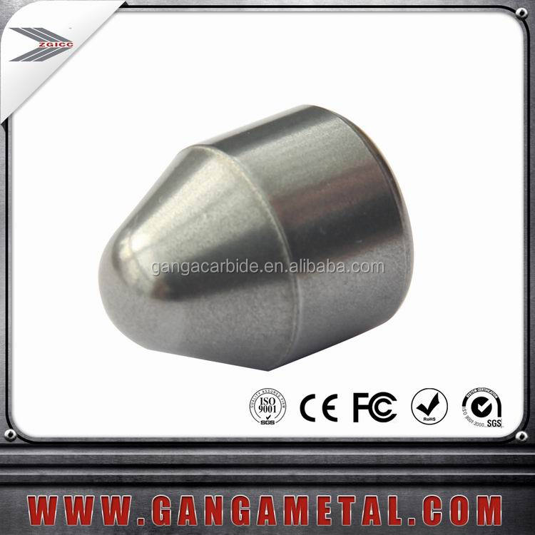 High quality tungsten carbide geological mine button tips